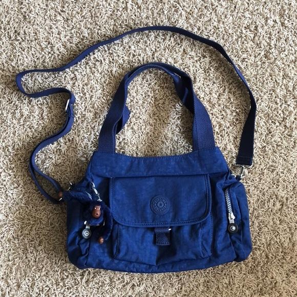 db611fb940 Kipling Handbags - Kipling Felix Large Handbag in Ink Blue